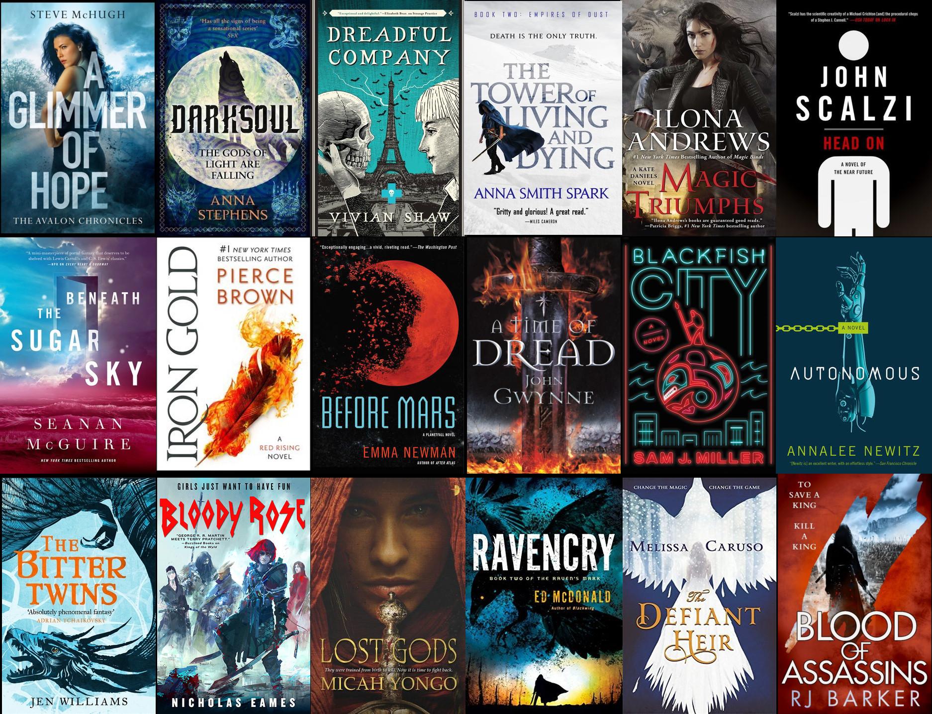 Most Anticipated Fantasy Books Of 2018 The Fantasy Hive